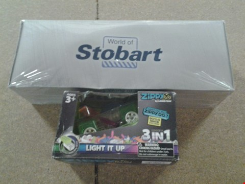 Lot 395 BOXED EDDIE STOBART COLLECTABLE TRUCK AND LIGHT IT UP ZIPPY 3 IN 1