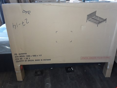 Lot 1005 BOXED DESIGNER BED PARTS HEAD BOARD ONLY (BOX 1 OF 3)