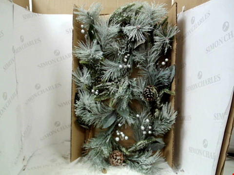 Lot 13137 BOXED LIT CONE GARLAND  RRP £32.99