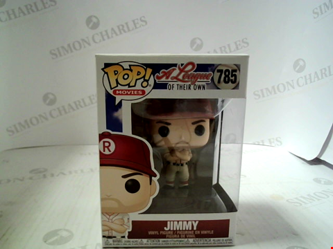 Lot 3304 POP MOVIES, A LEAGUE OF THEIR OWN - JIMMY. VINYL FIGURE