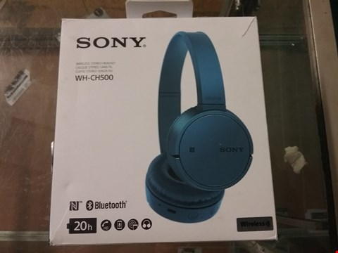 Lot 9198 SONY WH-CH500 WIRELESS STEREO HEADSET