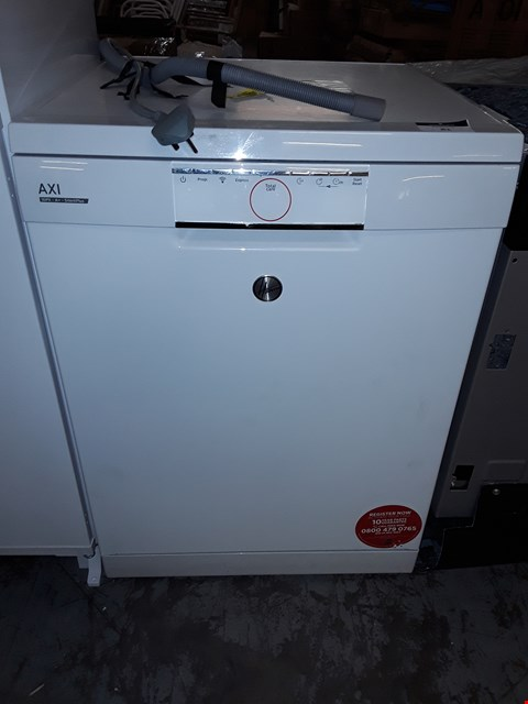 Lot 81 HOOVER FREE STANDING AXI SILENTPLUS DISHWASHER RRP £450