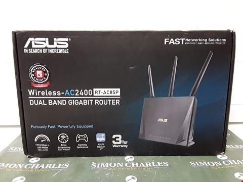 Lot 4658 BOXED ASUS WIRELESS-AC2400 RT-AC85P DUAL BAND GIGABIT ROUTER