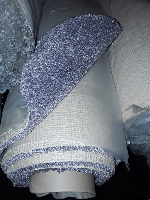 Lot 3074 ROLL OF EMPEROR CARPET, APPROXIMATELY 5X3.09 METERS - LAVENDER