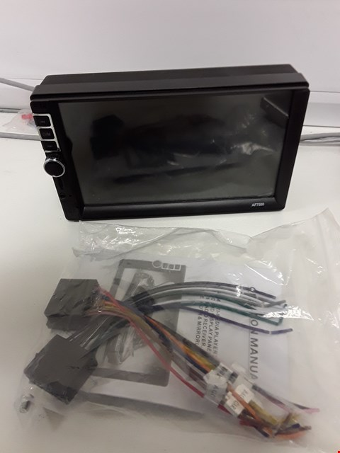 "Lot 100 UNBOXED IN-CAR MULTI MEDIA PLAYER WITH 7"" HDD DISPLAY"