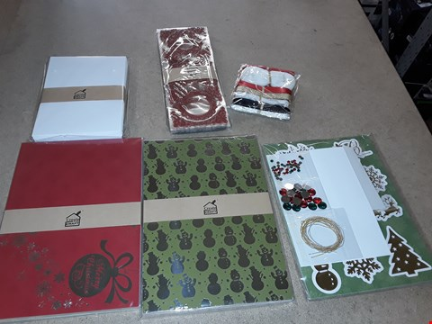 """Lot 4003 PALLET OF APPROXIMATELY 1133 ASSORTED BRAND NEW CRAFT ITEMS TO INCLUDE CREATE AND CRAFT STYLISH SPARKLE RIBBON, SPELLBINDERS 3D STAMP, GO! SNOWFLAKES 7"""" AND SPELLBINDERS GEO DIES ECT"""