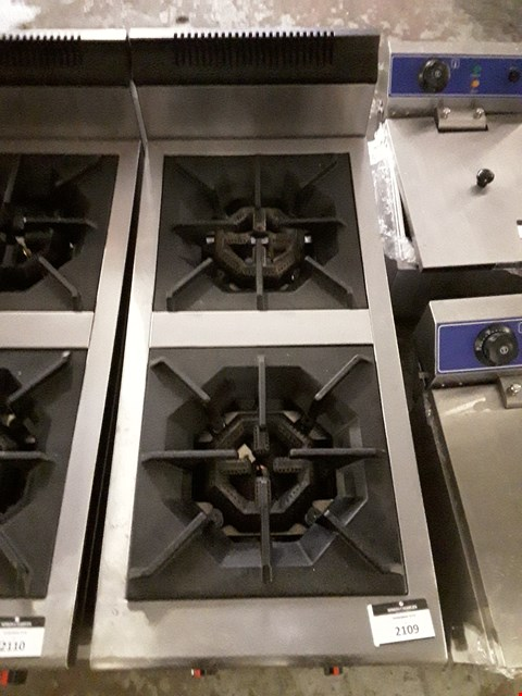 Lot 2109 NATURAL GAS 2 RING BOILING HOB