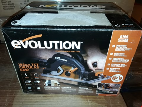 Lot 1011 EVOLUTION POWER TOOLS R185CCSX+ MULTI-MATERIAL CIRCULAR SAW