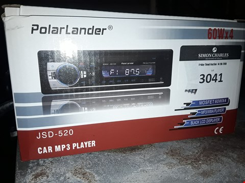 Lot 3041 POLAR LANDER JSD-520 CAR MP3 PLAYER
