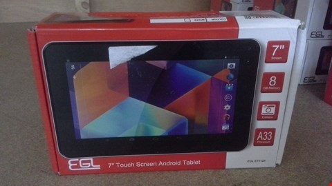 """Lot 430 EGL 7"""" TOUCH SCREEN ANDROID TABLET"""