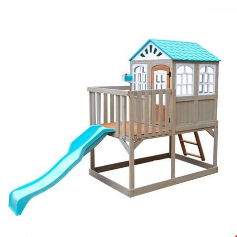 Lot 113 BOXED HIGH LINE RETREAT PLAYHOUSE(2 OUT OF 3 BOXES ONLY) RRP £849.99