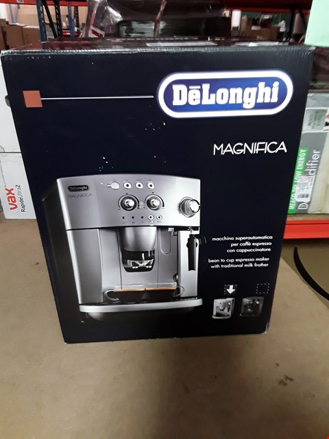 Lot 3255 DELONGHI MAGNIFICA BEAN TO CUP COFFEE MACHINE