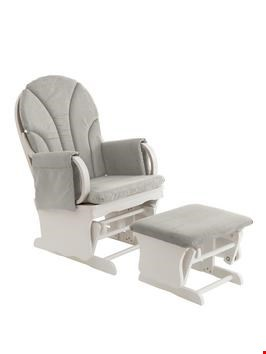 Lot 281 BOXED LADYBIRD GLIDING NURSING CHAIR WITH FOOTSTOOL  RRP £225.00