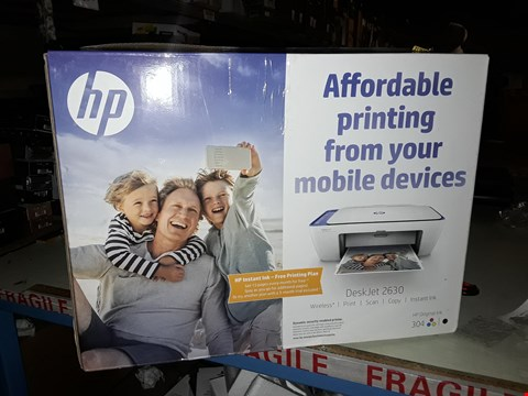 Lot 67 BOXED HP DESKJET 2630 ALL IN ONE PRINTER  RRP £32.38