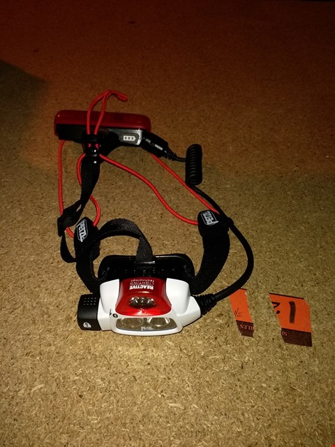 Lot 7171 PETZ NAO+ HEAD TORCH BLUETOOTH RECHARGEABLE