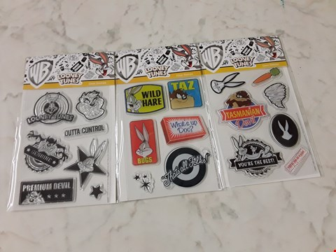 Lot 771 LOT OF APPROXIMATELY 10 LOONEY TUNES STAMP ASSORTMENTS
