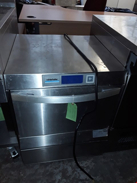 Lot 73 COMMERCIAL STAINLESS STEEL WINTERHALTER UNDER COUNTER DISHWASHER
