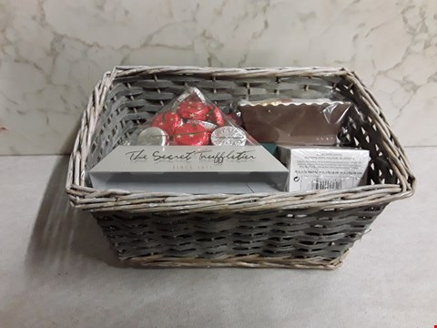 Lot 4081 CHRISTMAS TO A TEA HAMPER