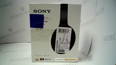 Lot 17271 SONY WH-1000XM3 WIRELESS NOISE CANCELLING HEADPHONES