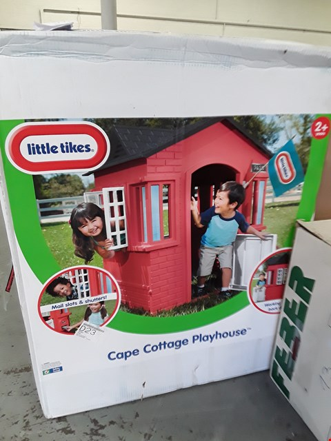 Lot 57 LITTLE TIKES CAPE COTTAGE PLAYHOUSE (1 BOX) RRP £160
