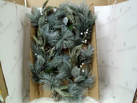 Lot 10062 BOXED LIT CONE GARLAND  RRP £29.99
