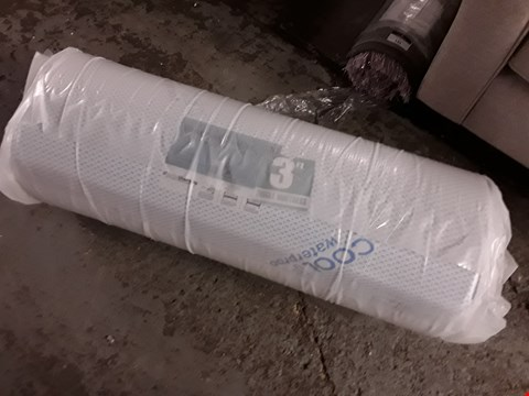 Lot 136 BAGGED AND ROLLED VISCO THERAPY 3FT WATERPROOF COOLFLEX MATTRESS