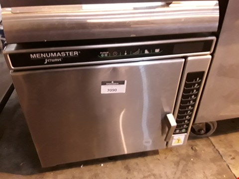 Lot 7090 MENUMASTER JETWAVE HIGH SPEED COMBINATION MICROWAVE/OVEN