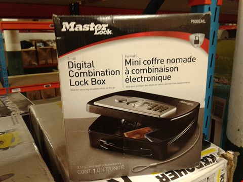 Lot 8349 MASTERLOCK DIGITAL COMBINATION LOCK BOX