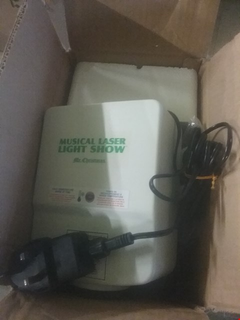 Lot 2340 MR CHRISTMAS MUSICAL LASER LIGHT SHOW