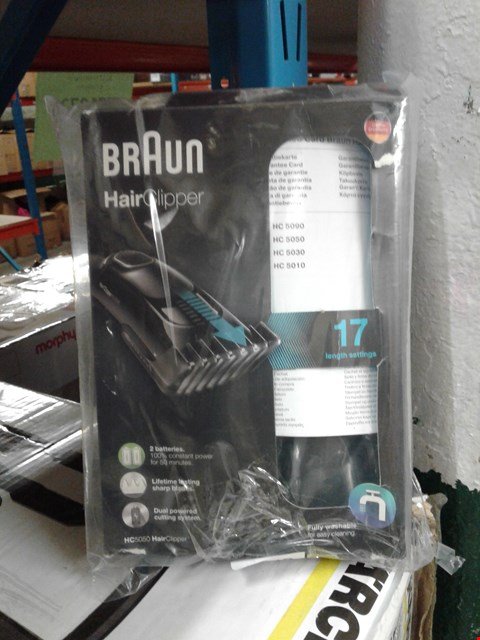 Lot 8346 BRAUN HAIR CLIPPER