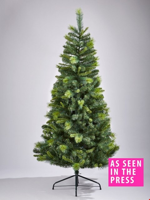 Lot 253 BOXED 6FT CANNOCK GREAT VALUE TREE RRP £45
