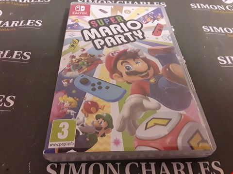 Lot 2379 SUPER MARIO PARTY NINTENDO SWITCH GAME
