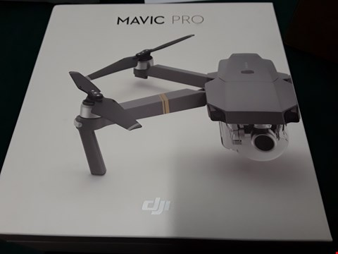 Lot 1019 DJI MAVIC FLY MORE COMBO RRP £1779.99