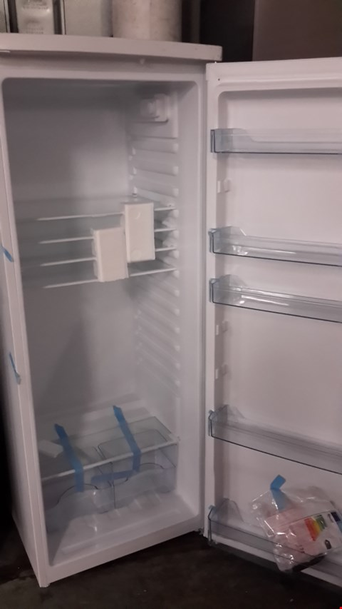 Lot 83 SWAN WHITE TALL LARDER FRIDGE SR8140W RRP £179.99