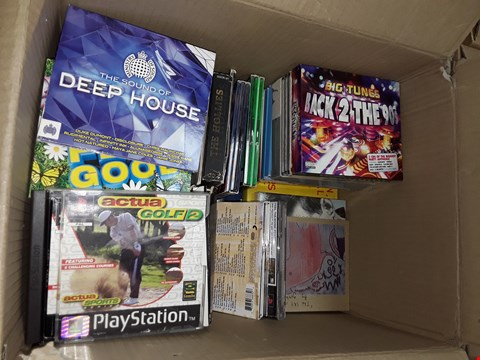 Lot 12008 APPROXIMATELY 42 CDS TO INCLUDE  , NOW 26 , BACK TO THE 90S ,DEEP HOUSE , NOW FEEL GOOD ,NOW SUMMER PARTY ,& HUCH MORE
