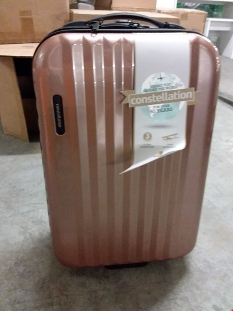 Lot 670 BOXED CONSTELLATION HARD SHELL SMALL SUITCASE