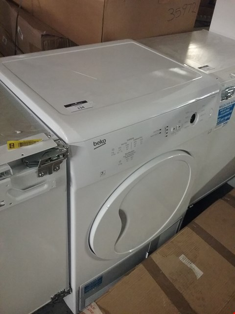 Lot 134 BEKO FRONT LOADING ELECTRIC DRYER RRP £200
