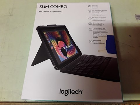 Lot 4222 LOGITECH 920-009047 SLIM COMBO CASE
