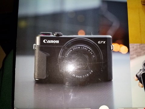 Lot 3029 GRADE 1 CANON POWERSHOT G7X MK-11 CAMERA RRP £719.00