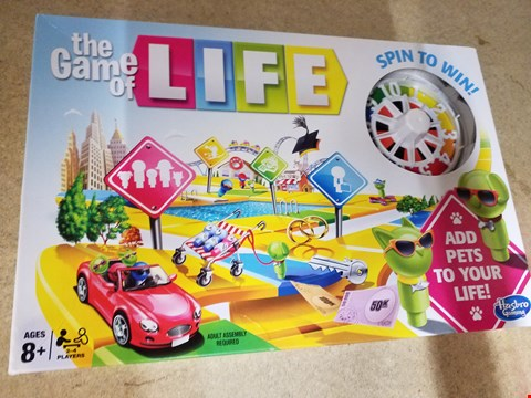 Lot 2011 THE GAME OF LIFE SPIN TO WIN BOARD GAME