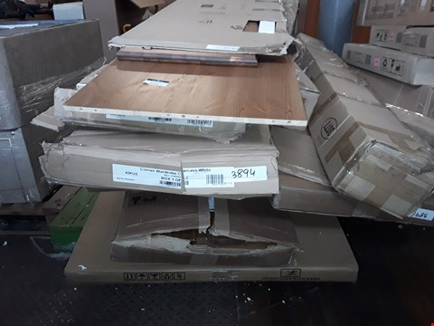 Lot 5111 PALLET OF ASSORTED FLAT PACK FURNITURE TO INCLUDE BED FRAMES, BED PARTS AND WARDROBE PARTS
