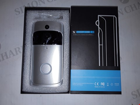 Lot 4171 BOXED X SMART HOME WIRELESS VIDEO DOORBELL