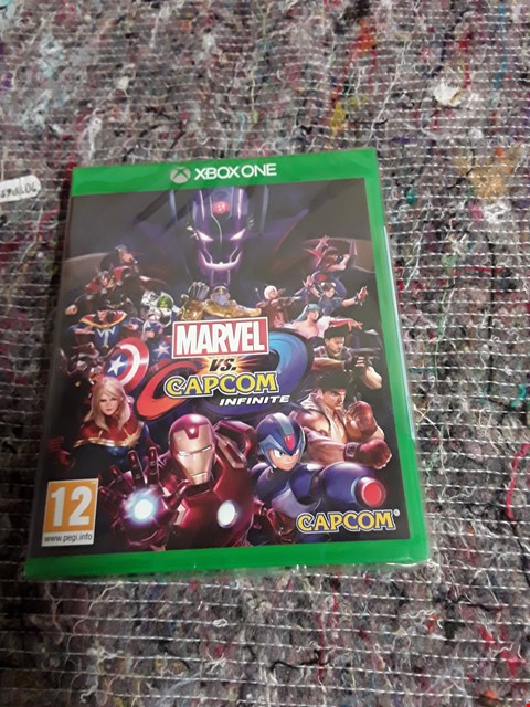 Lot 58 BRAND NEW MARVEL VS CAPCOM FOR XBOX ONE