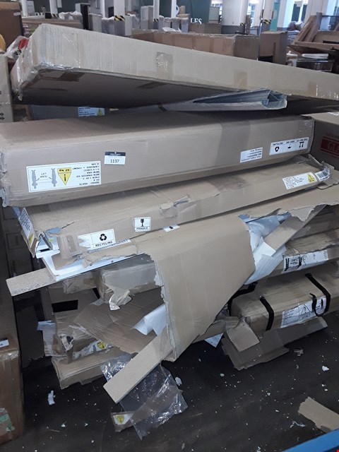Lot 12285 PALLET OF ASSORTED FLAT PACK FURNITURE PARTS
