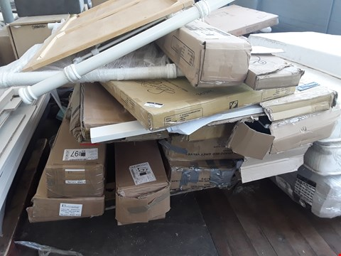 Lot 7096 PALLET OF ASSORTED BOXED BED FRAME PARTS