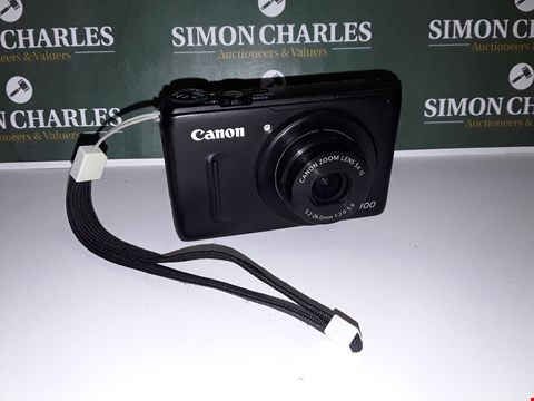 Lot 22 UNBOXED CANON POWERSHOT S100 DIGITAL CAMERA