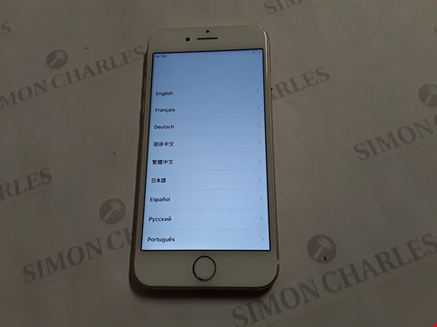 Lot 8005 APPLE IPHONE 7 128GB IN GOLD - A1660