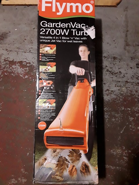 Lot 141 FLYMO GARDEN VAC 2700W TURBO