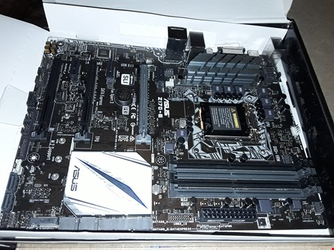 Lot 39 ASUS Z170-E INTEL Z170 DDR4 ATX MOTHERBOARD - BLACK/GREY