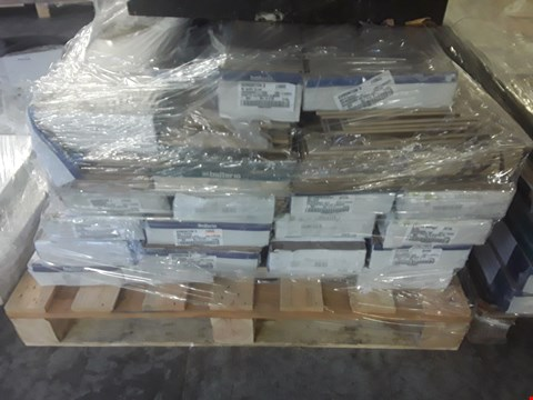 Lot 938 PALLET OF APPROXIMATELY 23 PACKS OF ASSORTED LAMINATE FLOORING